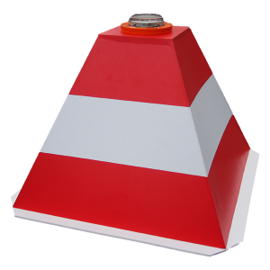Пирамида сигнальная с встроеным огнем OPL