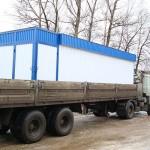 Транспортировка контейнерной автозаправочной станции