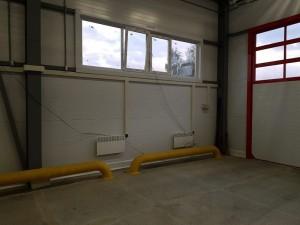 Строительство быстровозводимого пожарного депо