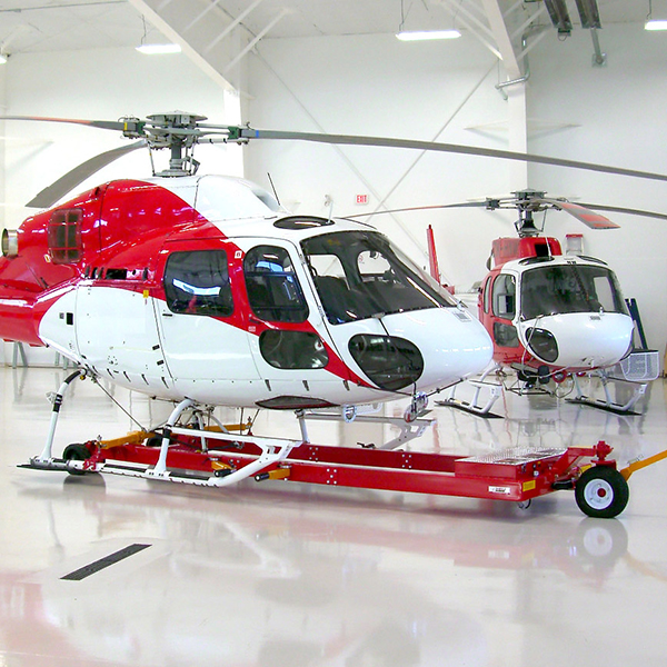 Буксировочная вертолётная тележка Heli Carrier V1032