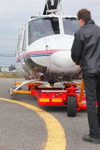 Буксировочная вертолётная тележка Heli Carrier V1040