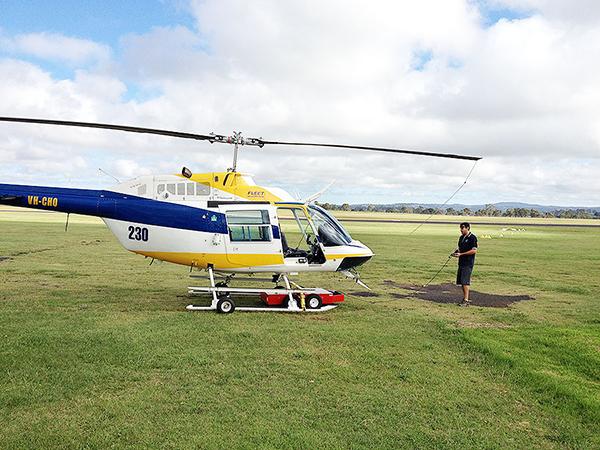 Буксировочная вертолётная тележка Heli Towcart V614