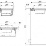 Варианты установки наземного огня HSOL