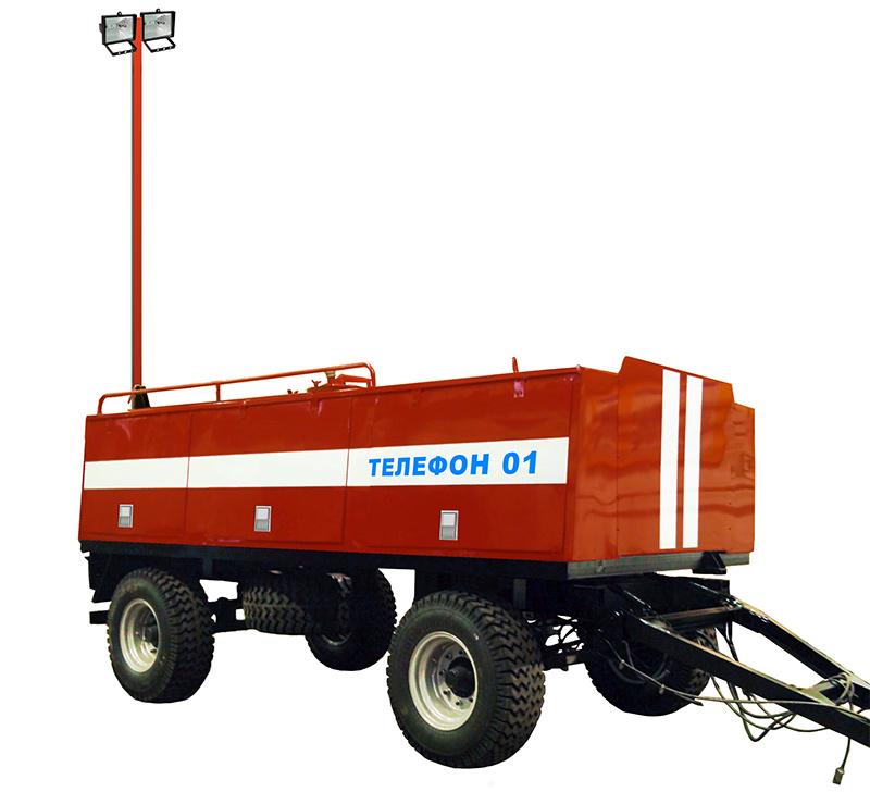 Пожарный прицеп-цистерна ПЦ-3,5