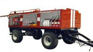 Пожарный прицеп-цистерна ПЦ-3,5 с ПТВ (пожарно-техническим вооружением)