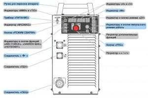 Схема сварочного аппарата ФОРСАЖ-502 расширенной модификации