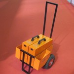 PVR 24/1000 Start на транспортировочной тележке