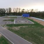 Вертолетная площадка МЧС для МИ-8 (г. Клин)