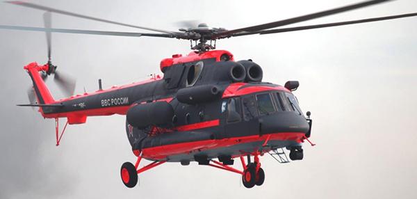 Завершены полеты в рамках контрольно-летных испытаний вертолета Ми-8АМТШ-ВА