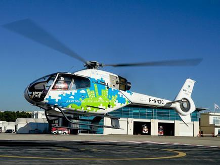 Airbus Helicopters начал летные испытания вертолета с дизельным двигателем