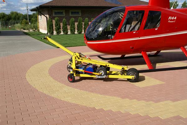 Вертолетная буксировочная тележка HT-1