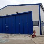 Быстровозводимый утепленный ангар с помещениями персонала для хранения и обслуживания вертолетов<br /> (пос. Чкаловский)