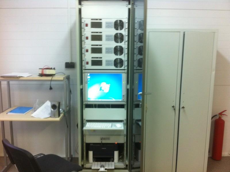 Зарядная аккумуляторная станция (ЗАС) для авиационных батарей (г. Балабаново)